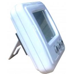 Double thermometre int/ext - Alarme T - Sonde amovible + Ralentisseur thermique