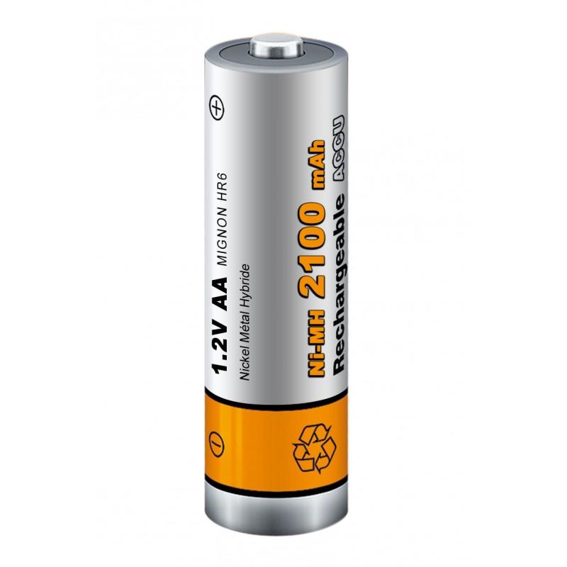 Pile rechargeable - Lot de 4