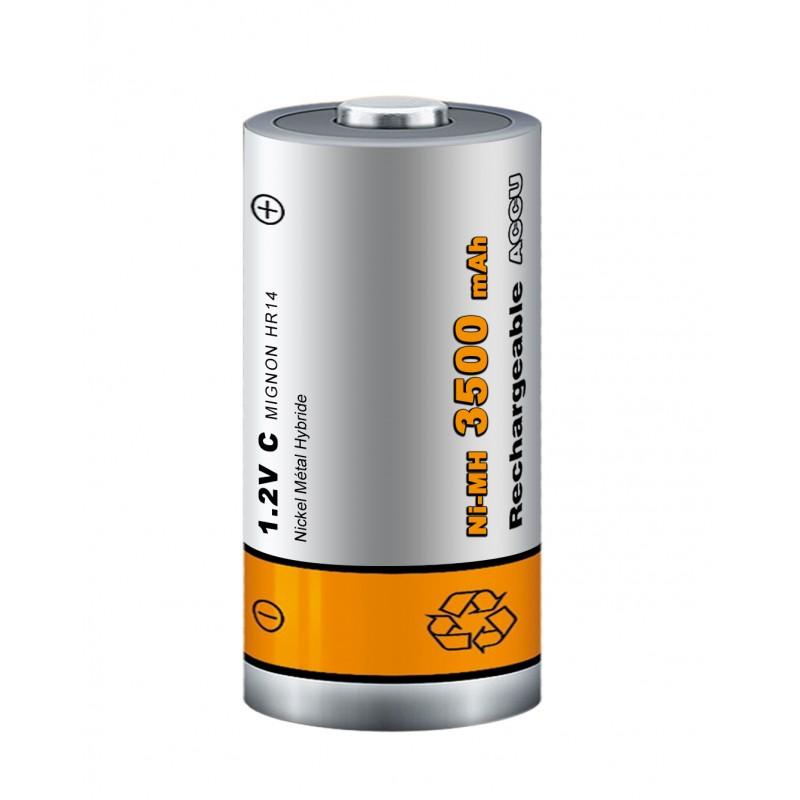 Pile rechargeable - Lot de 2