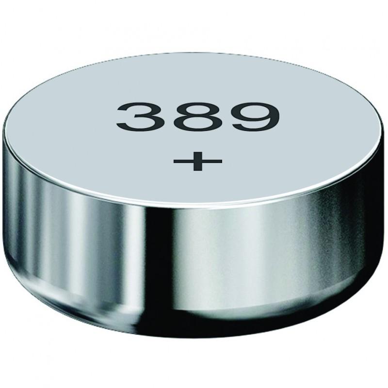 Pile bouton oxyde d'argent - Lot de 10