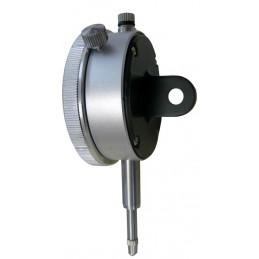 Comparateur analogique 20mm - Dos à oeillet + Certificat rattaché Cofrac