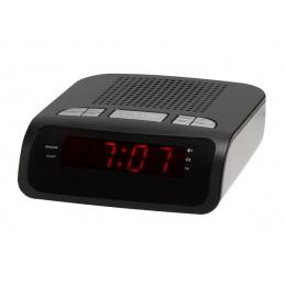 Radio-réveil digital à leds rouges