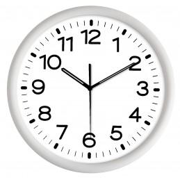 Horloge murale diam. 300mm - Lunette ABS blanc