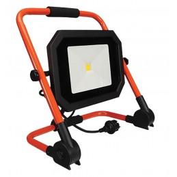 Projecteur de chantier à LEDs sur secteur - 30 W