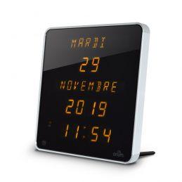 Horloge LEDs DST - Calendrier jours / date / mois / année