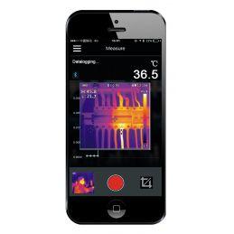 Caméra thermique infrarouge IR-8BT - Connexion Bluetooth vers smartphone