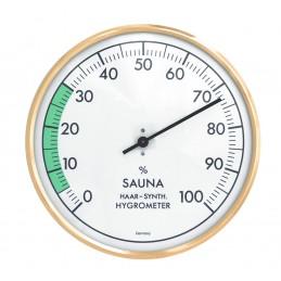 Hygromètre de sauna à aiguille - Laiton