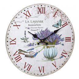 """Horloge murale 330mm - Cadran """"Vintage lavande"""""""
