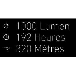 Lampe torche Led Lenser® rechargeable USB – Haute luminescence et longue portee