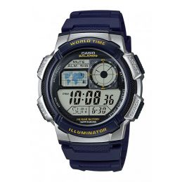 Montre Casio multisport Chrono/Timer - Coloris bleu