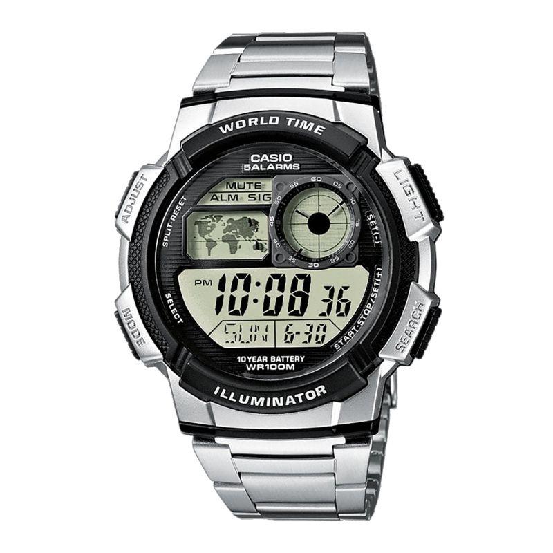 Montre Casio multisport Chrono/Timer - Métal