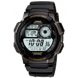 Montre Casio multisport Chrono/Timer - Coloris Noir