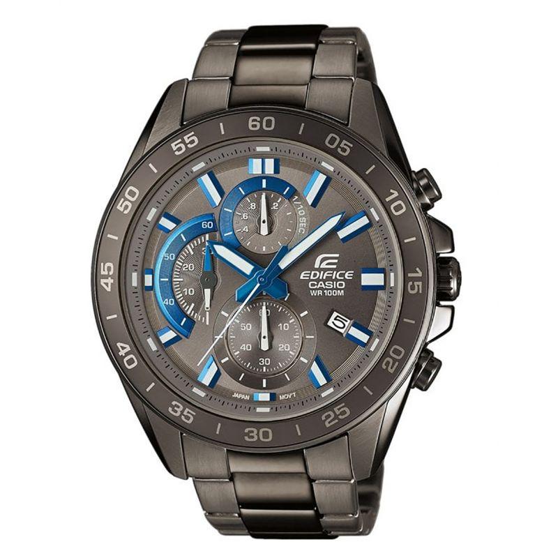 Montre Casio Edifice - Chrono / Dateur - Bracelet acier noir