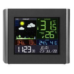 Station météo digital multicolore - Connectée par Wifi
