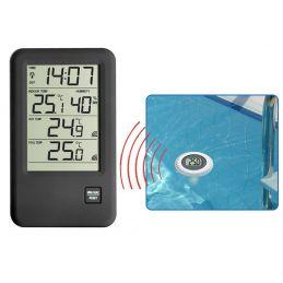 Thermomètre digital spécial piscine avec sonde de température