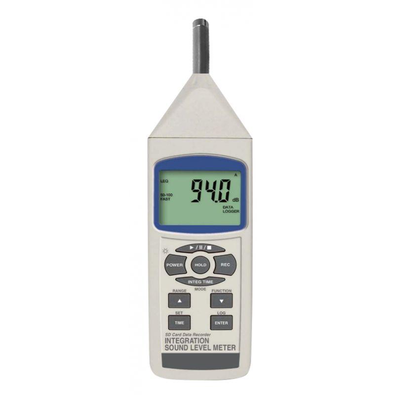 Sonomètre digital intégrateur Classe 2 - Export .xls direct sur carte SD