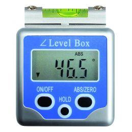 Inclinomètre digital magnétique - Avec niveau à bulle