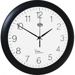 Horloge ABS - Verre minéral - radio pilotée - Diam 300mm