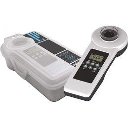 Photomètre spécial piscine : Alcalinité, pH, Chlore libre/total, acide cyanurique - Connectée Bluetooth