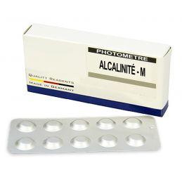 Réactifs pour photomètre 910WD - Alcalinité (50 tablettes Alcalinité-M)