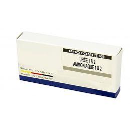 Réactifs pour photomètre 910WD - Urée et ammoniaque (50 tests)