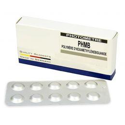 Réactifs pour photomètre 910WD - PHMB (50 tablettes)