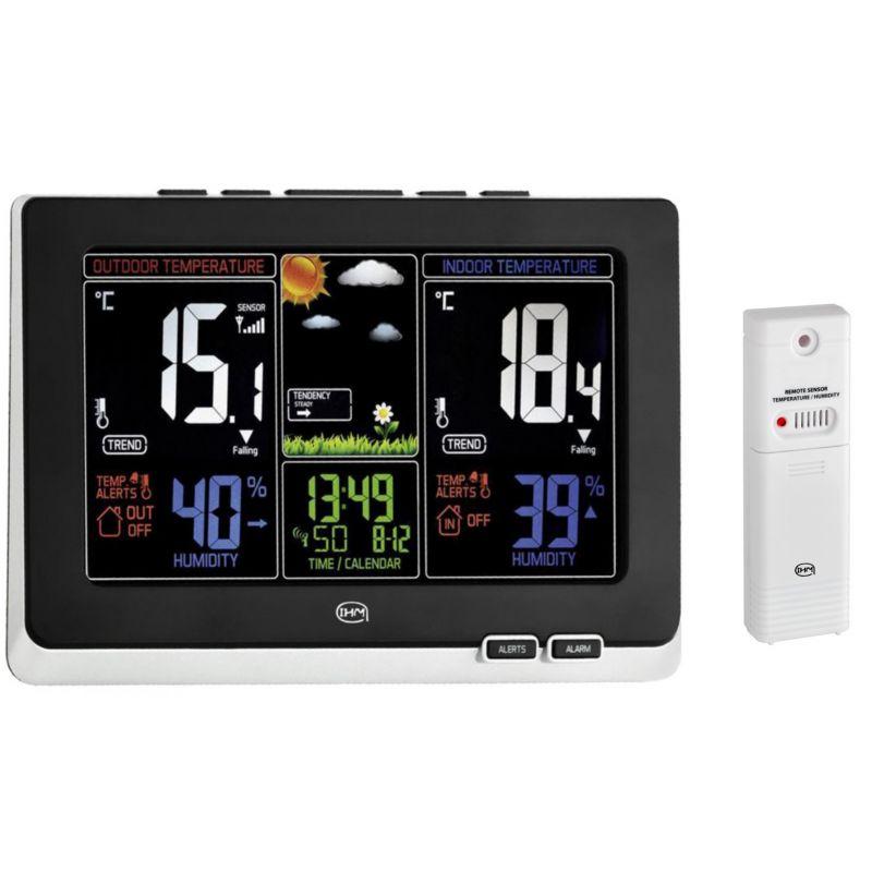 Station météo digitale - Ecran LCD et animation en couleur