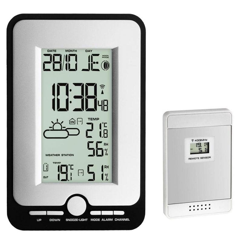 Station météo digitale - Alarme de température - Phases lunaires