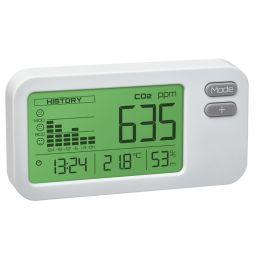 Mesureur de qualité de l'air CO2, température et hygrométrie - Alarme visuelle