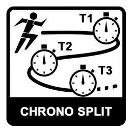Chronomètre 2 temps - Précision - Pile lithium