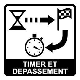 Chronomètre 100% chrono - Etanche immersion 3ATM