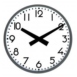 Horloge extérieure radio pilotée - Diam 900mm - Double face