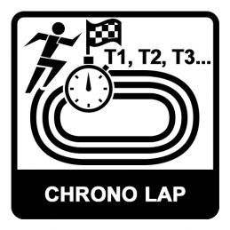 Chronomètre 500 mémoires - Etanche IP67 / 3ATM