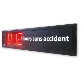 Afficheur nombre de jours sans accident