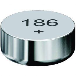 Pile bouton alcaline 186 - Lot de 10