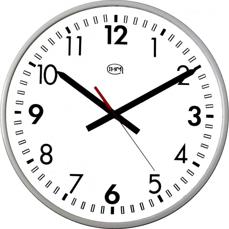 Horloge métal Acier traité anti UV - Extérieure - Diam 400mm