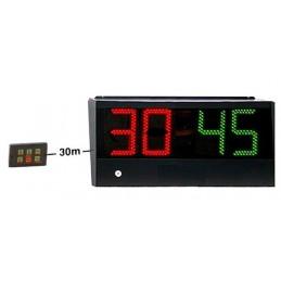 Chronomètre horloge à diodes comptant/décomptant - Min/sec