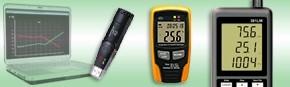 Enregistreur température, hygrométrie et barométrie