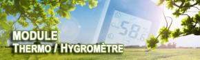 Module température/hygrométrie