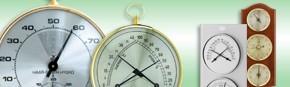 Thermo-hygromètre analogique