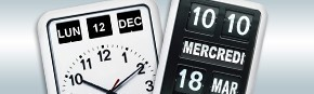 Horloge-calendrier