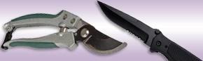 couteaux divers