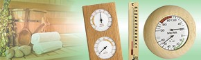Thermomètre / Hygromètre Spécial SAUNA